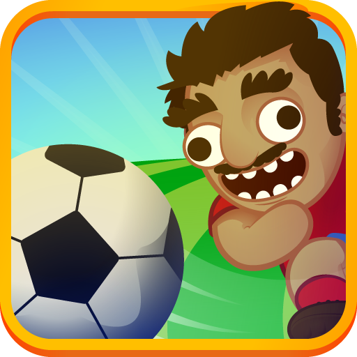 Soccer with Physics 2 players 休閒 App LOGO-硬是要APP