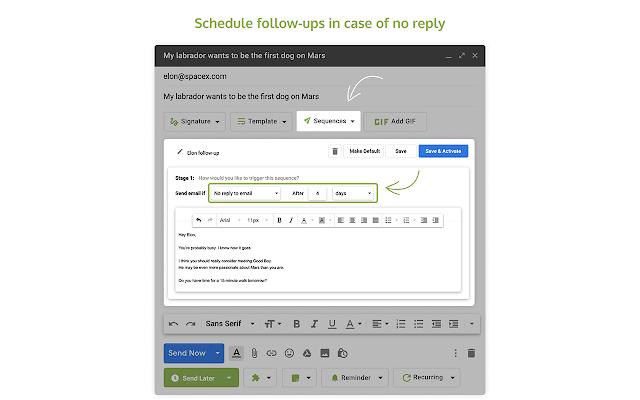 Right Inbox for Gmail - Chrome เว็บสโตร์