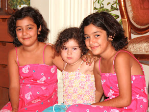 Photo: Day 132 - Elina With Her Twin Cousins #3
