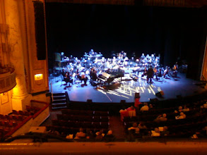 Photo: The Proctor's Stage, before the Schenectady Symphony pops concert