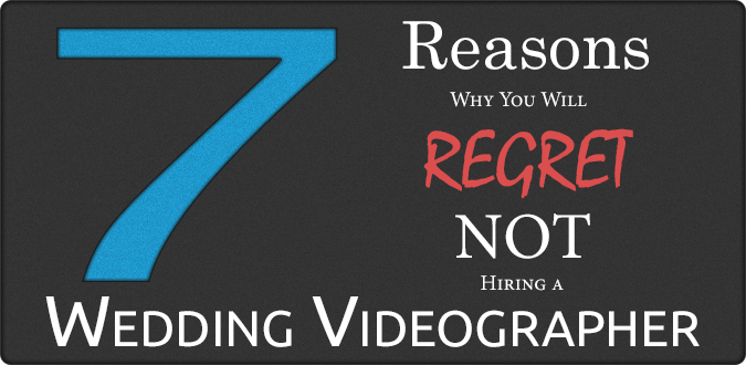 Photo: 7 Reasons Why You Will Regret NOT Hiring a Wedding Videographer  epiem Blog regarding this photo can be found here: http://www.epiem.com/video/wedding-video/item/7-reasons-why-you-will-regret-not-hiring-a-wedding-videographer