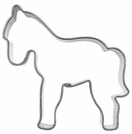 Kakform - Häst, 6 cm