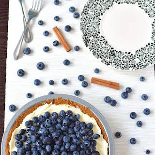 Blueberry Mascarpone Pie.