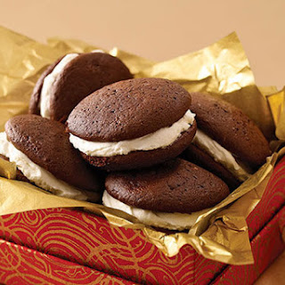 Triple-Chocolate Whoopie Pies