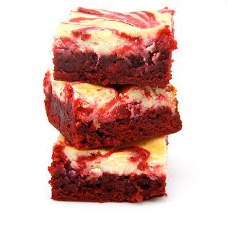 Red Velvet Cheesecake Brownies.