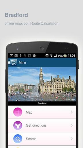 Bradford Map offline