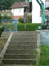 Photo: und jetzt geht es den einzelnen Stufen an den Kragen.....
