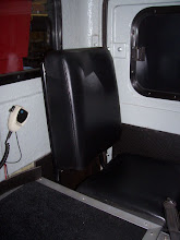 Photo: Another picture of seats added by P&W Shops on their NEGS 100. Photo Courtesy of Gordan Wallick, P&W Shops.