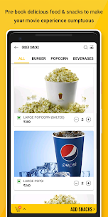 PVR Cinemas – Movie Tickets  App Download For Android and iPhone 5