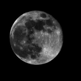 by Digant Dalal - Abstract Macro ( moon image, moon, large moon image )