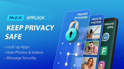 MAX AppLock - App Locker, Security Center 1.6.3 screenshots 1