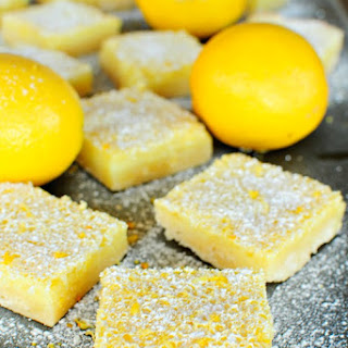 The Best Ever Lemon Bars.