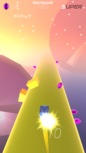 Warp and Roll - running flight action game 1.1.7 screenshots 19