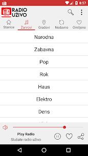 Radio Uzivo Srbija – Radio Stanice Srbije 1.3.0 MOD Apk Download 3