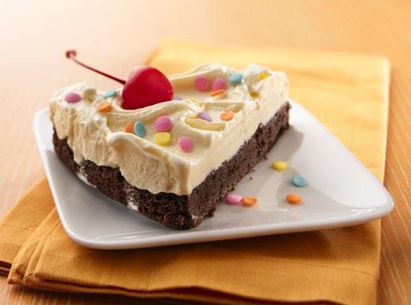 Brownie Ice Cream Torte Recipe