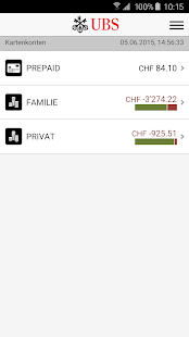 UBS Mobile Banking – Miniaturansicht des Screenshots