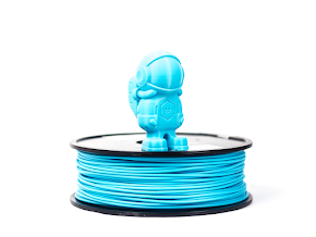 Light Blue MH Build Series PLA Filament - 3.00mm