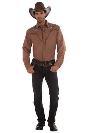 Cowboyskjorta deluxe