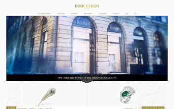 Photo: Site of the Day 27 December 2012 http://www.awwwards.com/web-design-awards/boucheron