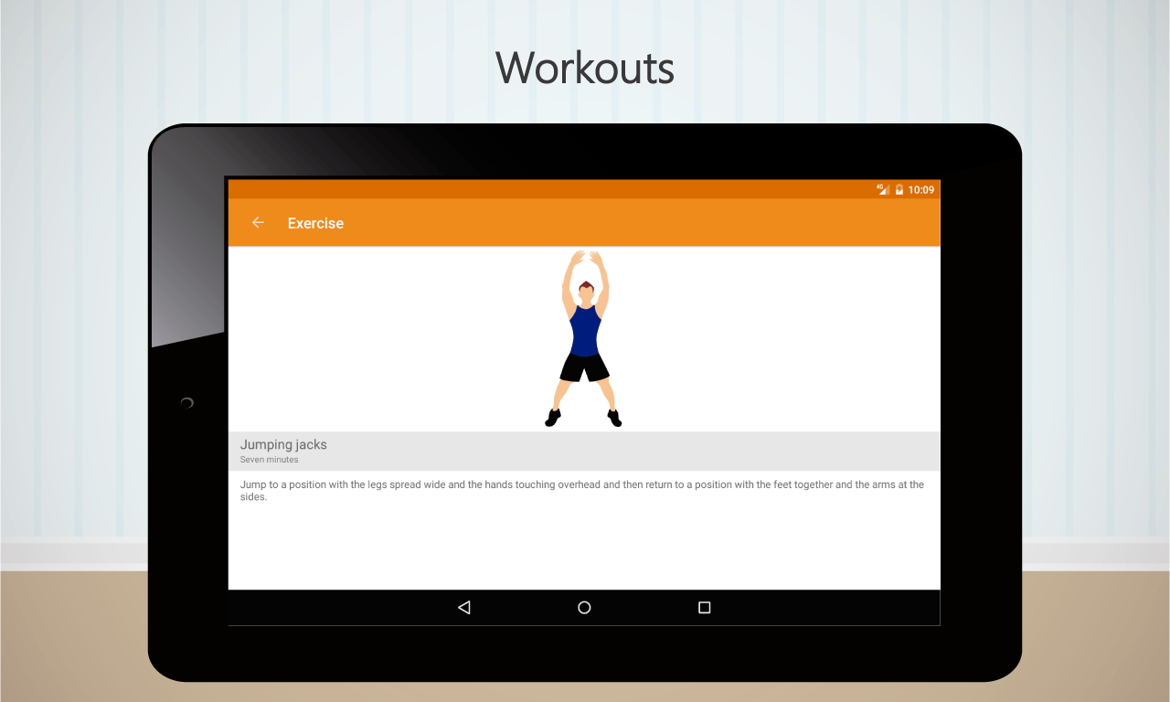Home Workouts- screenshot