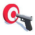 Idle Shooting Target: Best Gun Sound, Sniper Free! icon