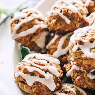 Carrot Cake Oatmeal Cookies.
