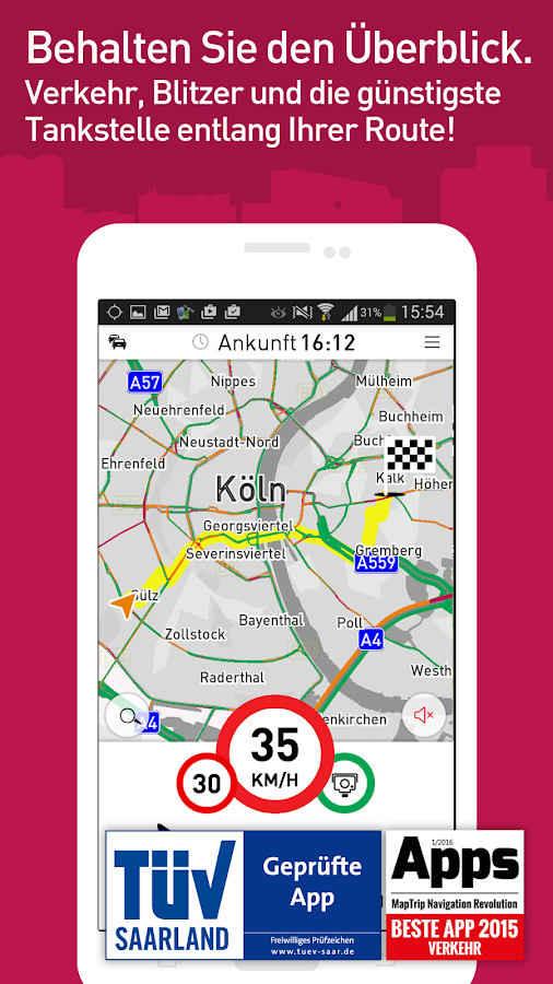 MapTrip Navigation- screenshot