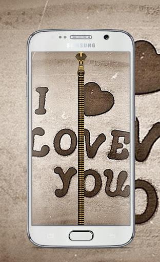 love Zipper Unlock