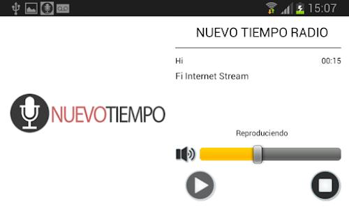 Radio Nuevo Tiempo screenshot 3