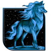 Blue Wolf Live Wallpaper