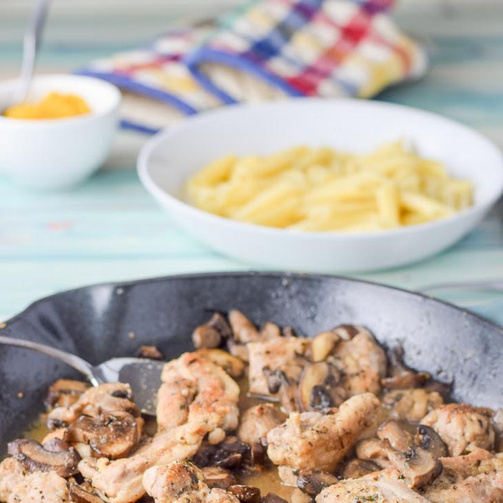 Super Easy Chicken Marsala Recipe