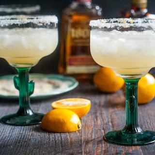 Simple Meyer Lemon Margarita.