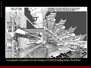 Photo: Conceptual Competition - First Prize for High Density Design