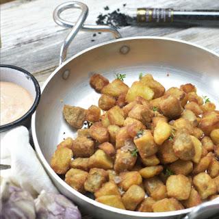 Southern Fried Breakfast Potatoes.