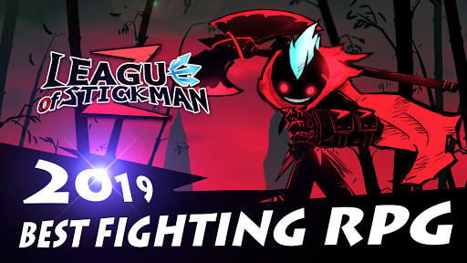 League of Stickman 2-Online Fighting RPG 1.2.5 screenshots 1