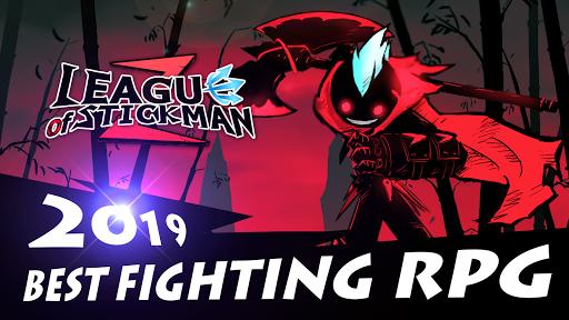 League of Stickman 2-Online Fighting RPG 1.2.7 screenshots 1