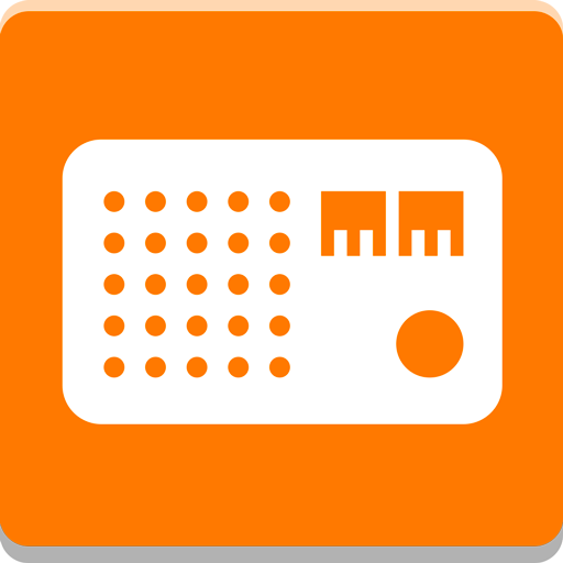 Orange Radio Icon