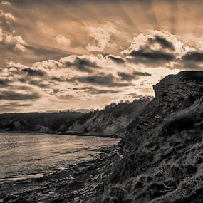 Dorset Coast by Matt Lampey - Landscapes Waterscapes