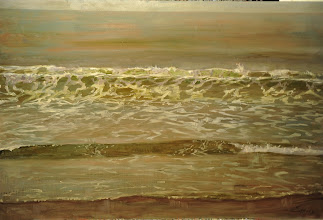 Photo: Note-bad lighting Incoming tide 32x48 3000$