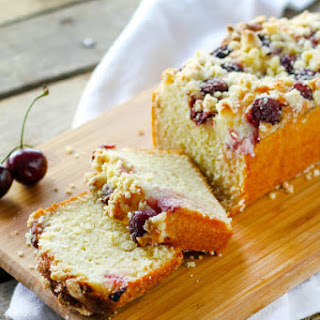 Cherry Cream Crumb Cake