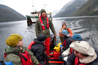 Photo: One more cruise into Mussell Inlet, the following morning.