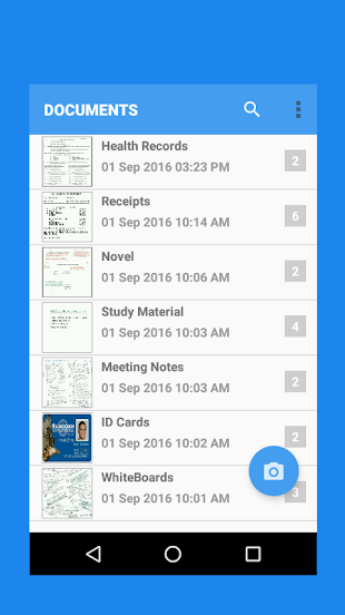 Doc Scanner :PDF Creator +OCR- screenshot thumbnail