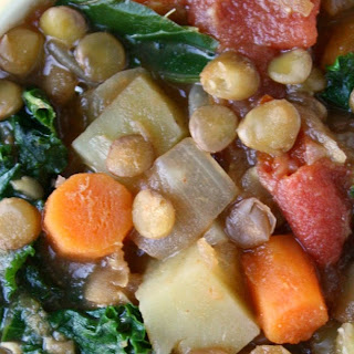 Lentil Kale & Potato Soup