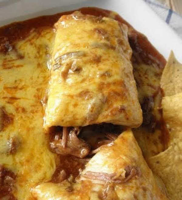 Smothered Beef Burrito