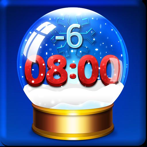 天气の雪 天気時計ウィジェット LOGO-記事Game