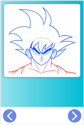 How To Draw Dragon Ball Z - screenshot