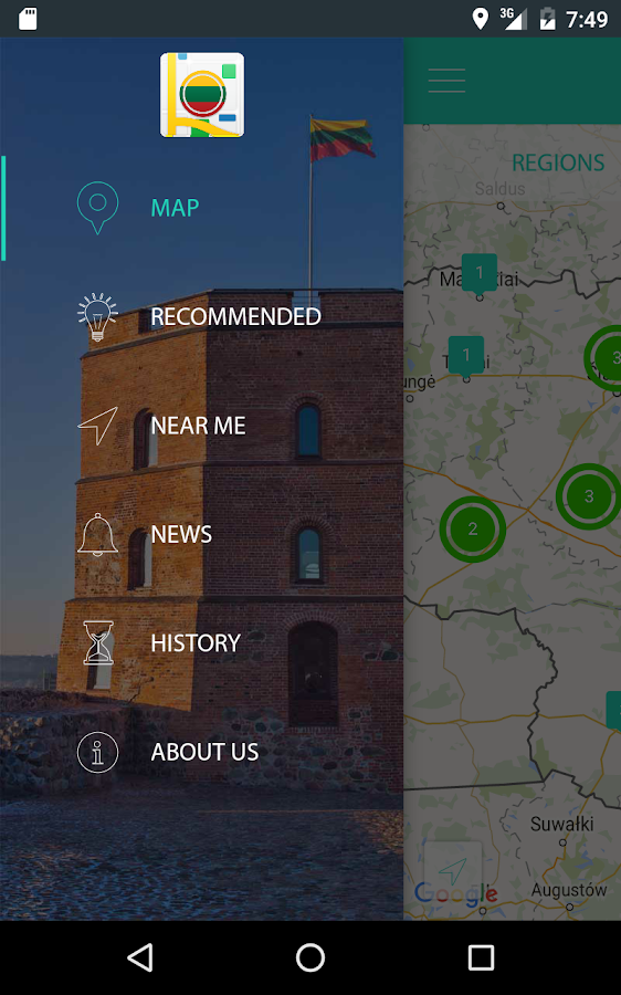 AppsMapper Lithuania- screenshot