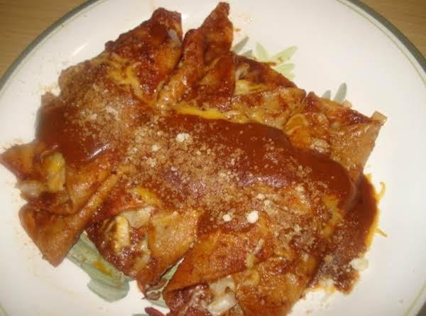 Mexican Cheese Enchiladas, Enchiladas De Queso