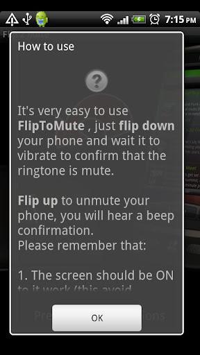 Flip To Mute 2 screenshot 2