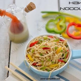 Vegetable Hakka Noodles Recipe | Hakka Noodles.